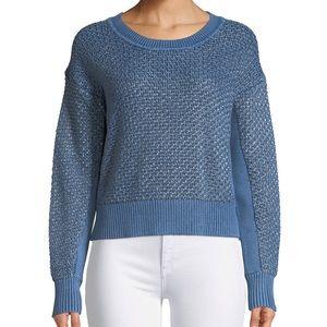 Rag & Bone Kyra metallic knit chunky sweater